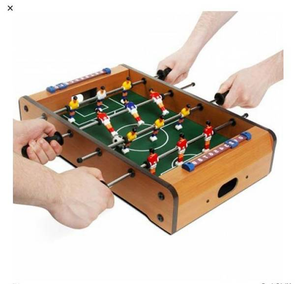 table de jeux babyfoot air hockey billard