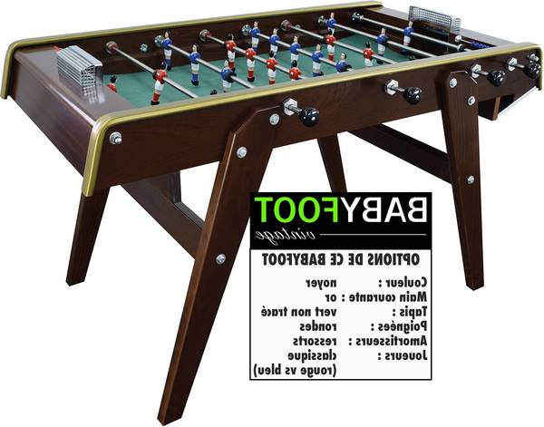 baby foot qualité