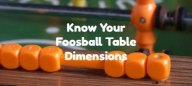 Dimensions et taille de la table de baby-foot: une introduction